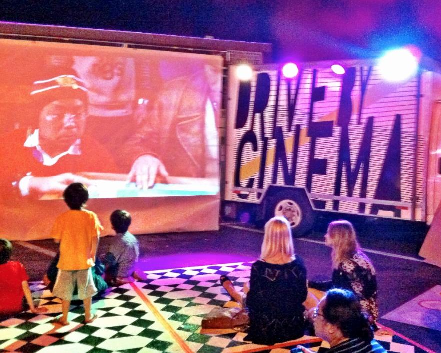 San Diego Night Market - Drive-By-Cinema