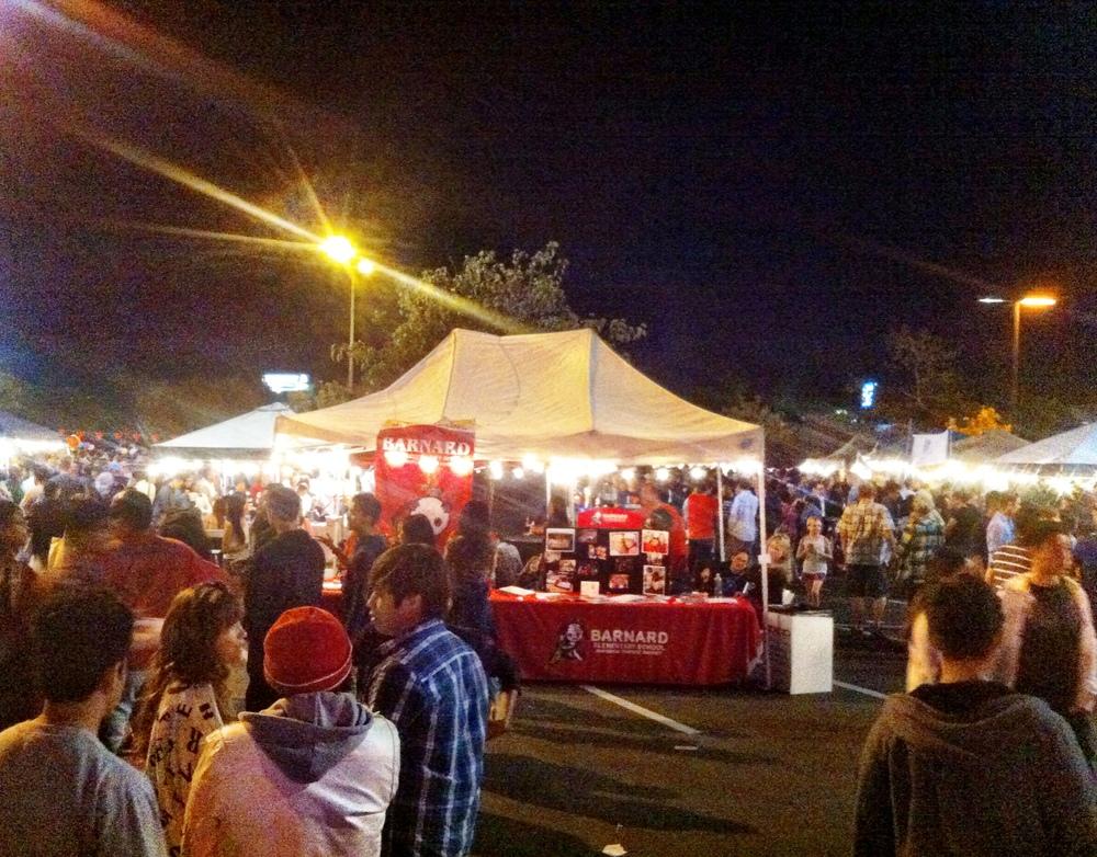 San Diego Night Market Stalls