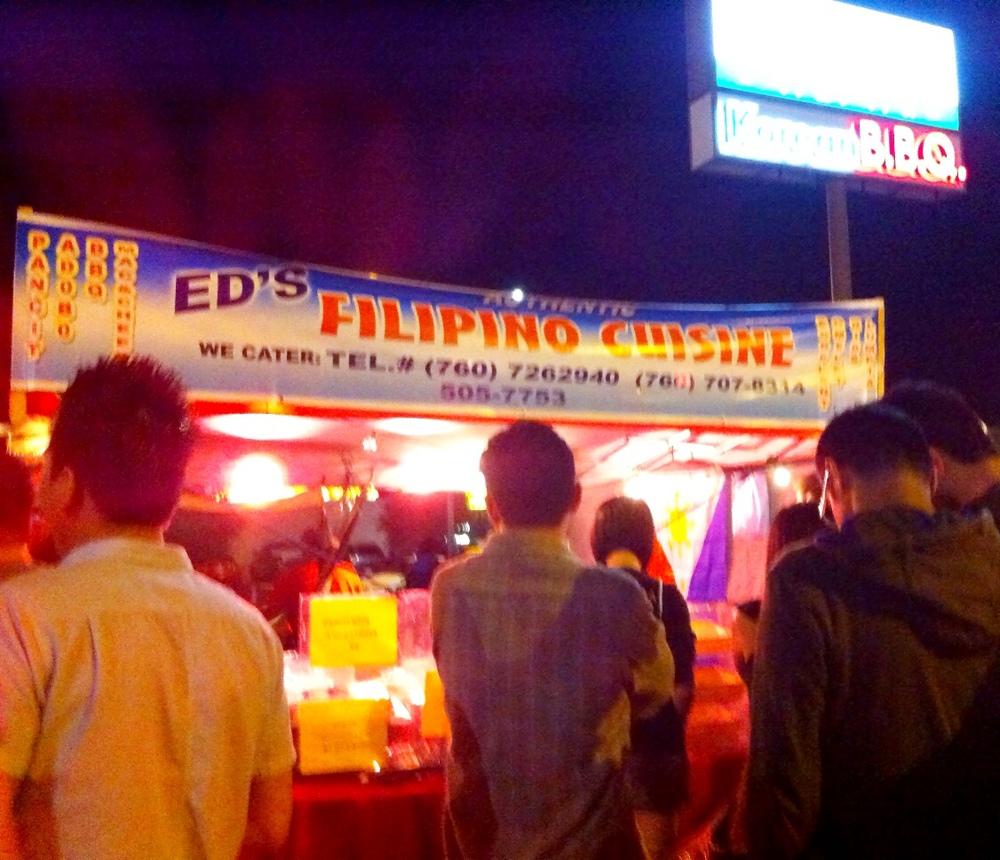 San Diego Night Market - Ed's Filipino Cuisine
