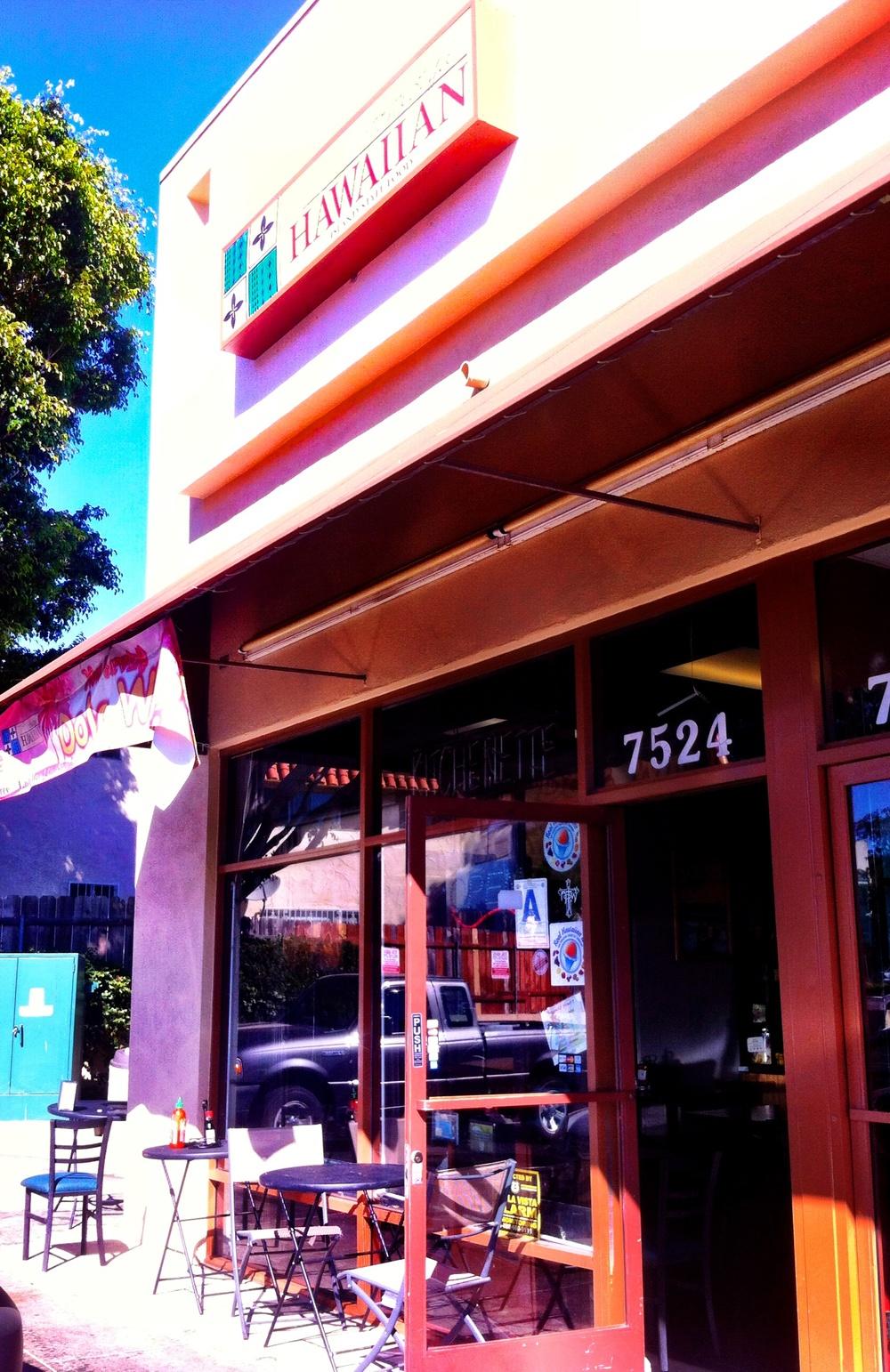 Homestyle Hawaiian - 7524 Mesa College Dr (between Ashford St & Wellington St) San Diego, CA 92111