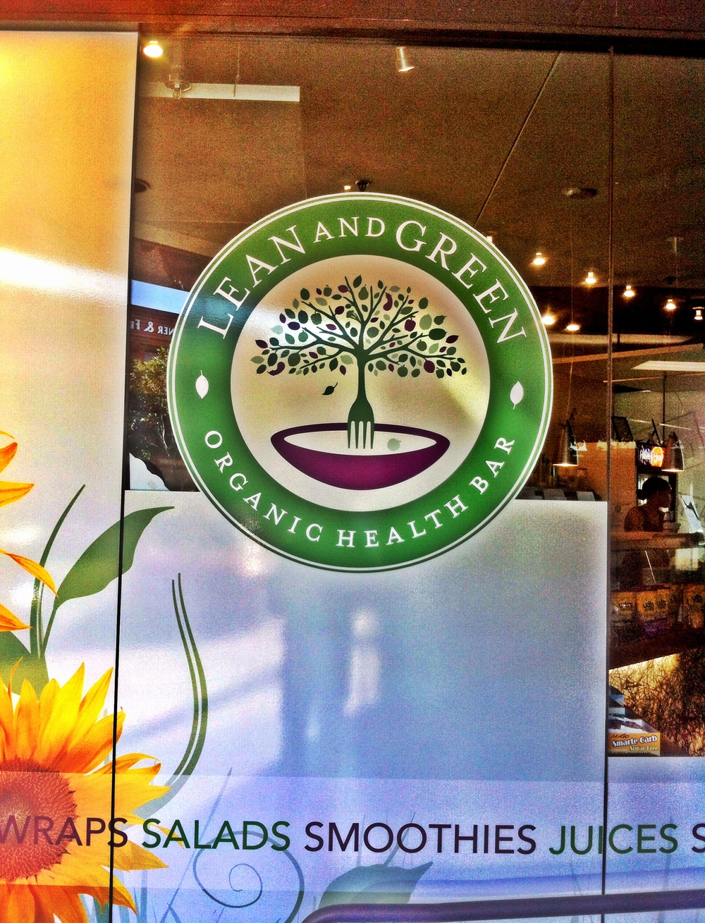 Lean and Green Cafe, La Jolla