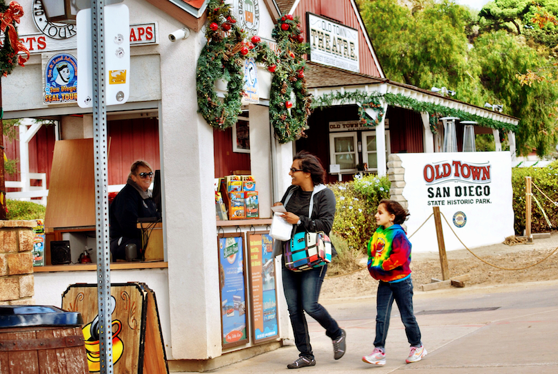 Here's where you pay for your tickets to board the Old Town Trolley.