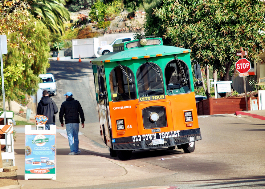 The Old Town Trolley is ready to go!