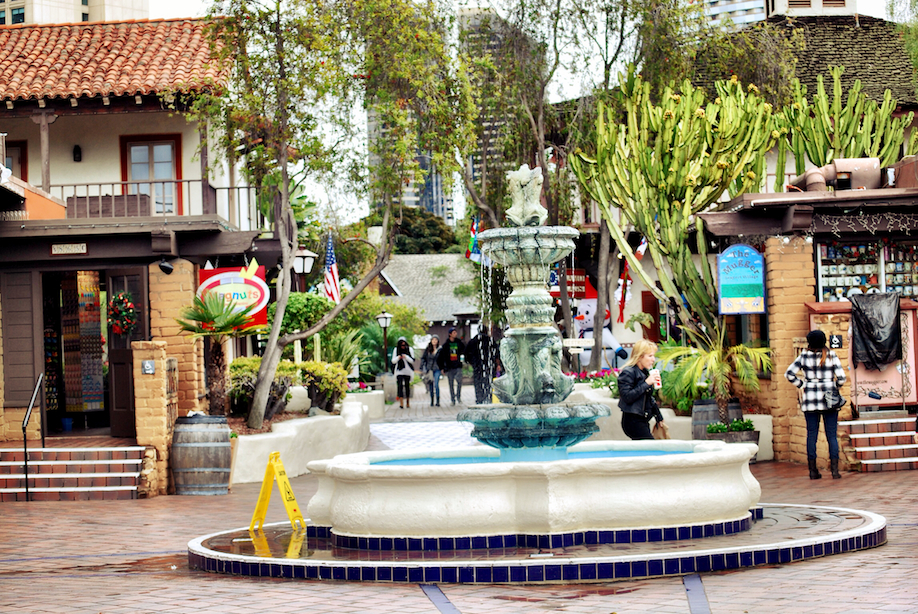 Relaxed by the fountain at Seaport Village and walked around to check out the shops.