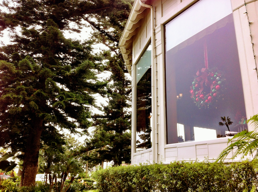 We got really excited as we saw that they're already decorated for the Holidays.