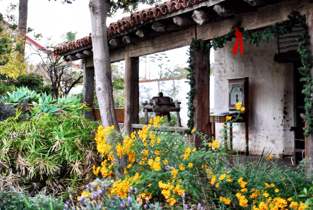 Inside Casa de Estudillo.