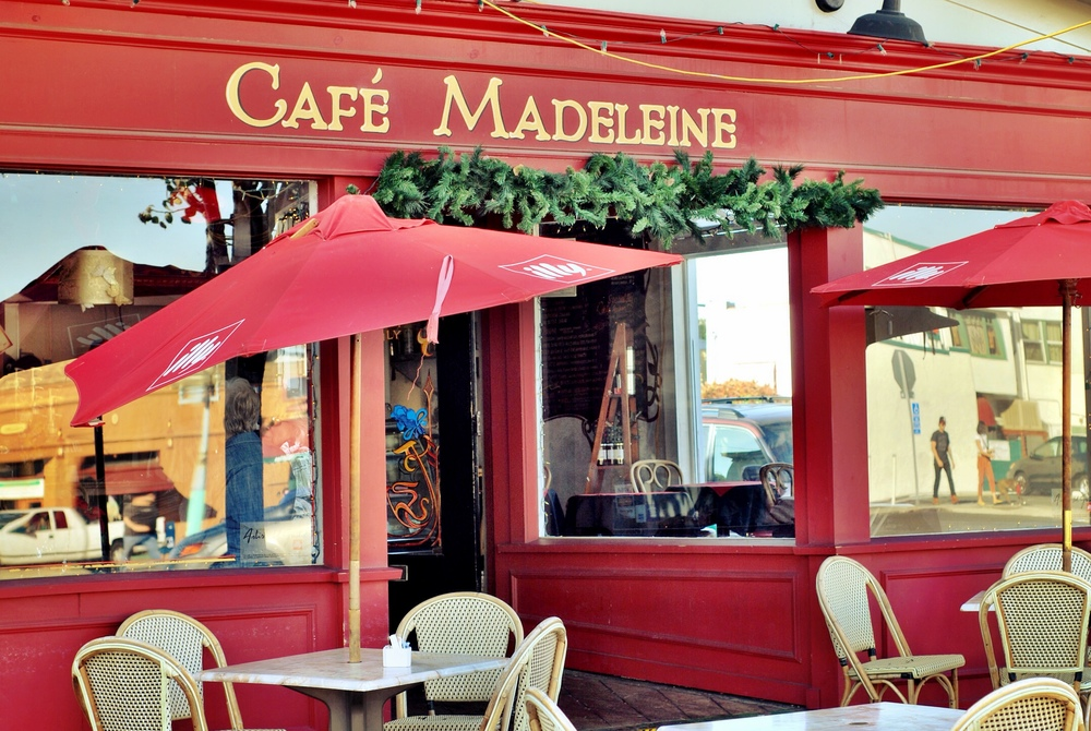 Cafe Madeleine  2248 30th  French Street Cafe