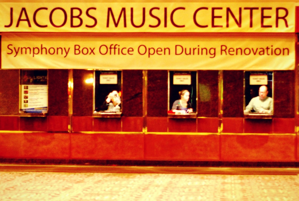 Jacobs Music Center Ticket Booth