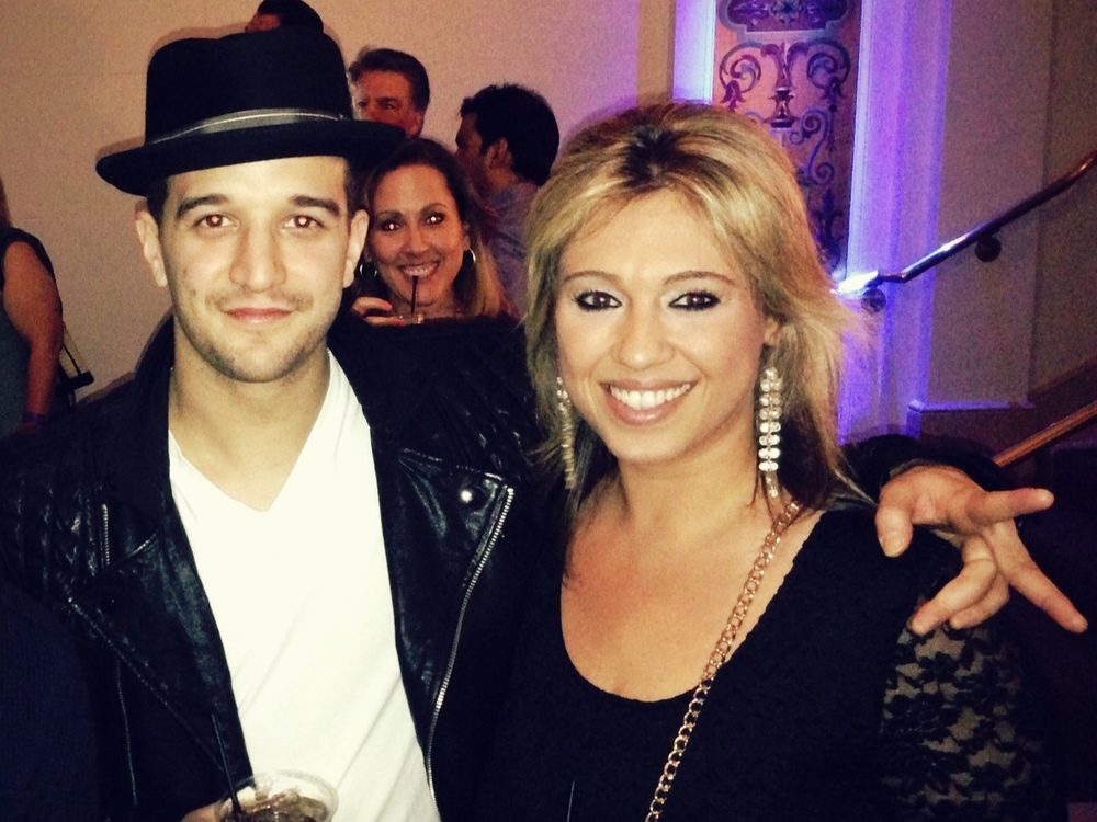 Mark Ballas with Chisem Kaplan