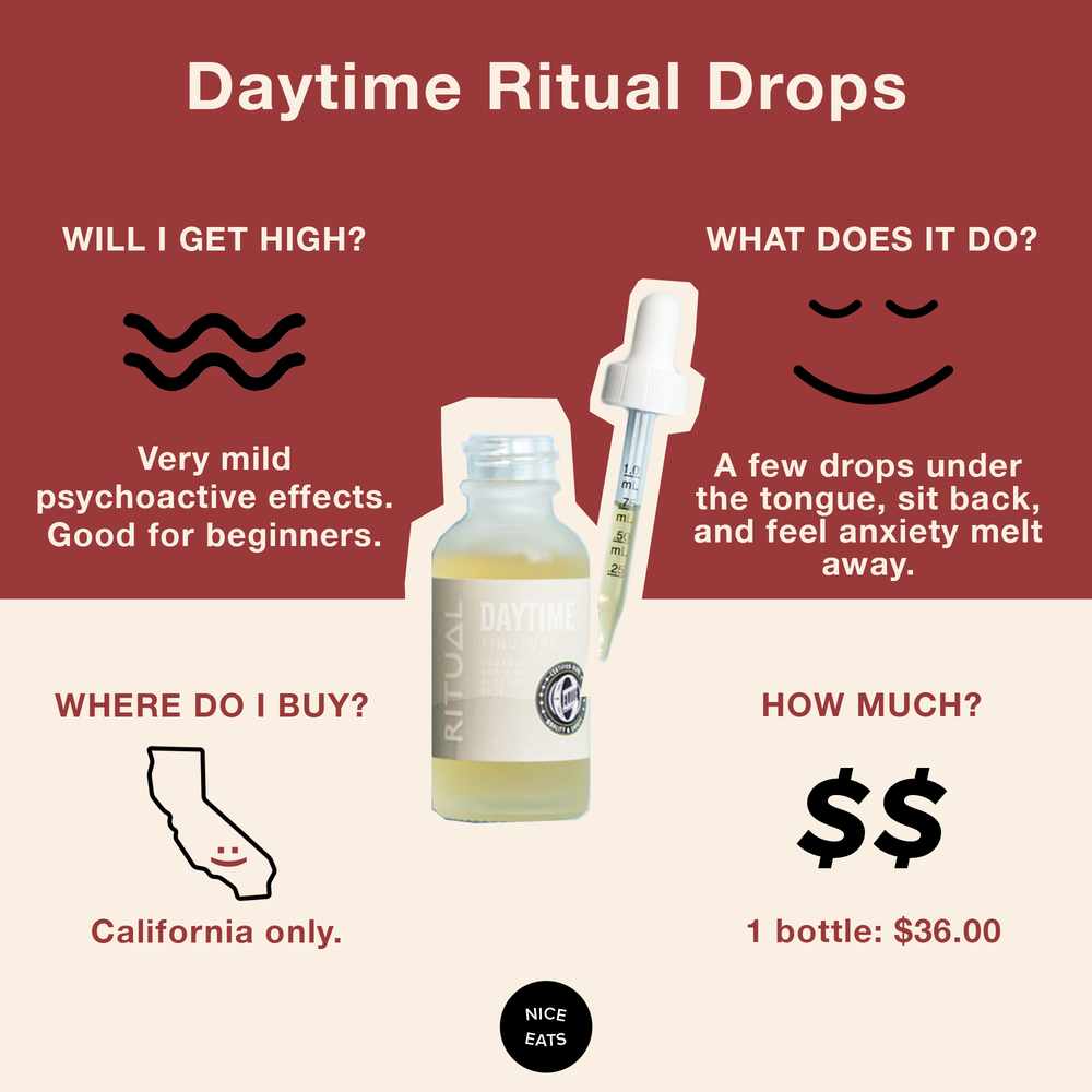 4. Ritual Drops - Their clean and calming packaging will make you feel like you're at the spa, and their minty fresh drops have a similar effect. Try their 20:1 drops, which are designed to help soothe your mind and body while keeping you focused on your day.