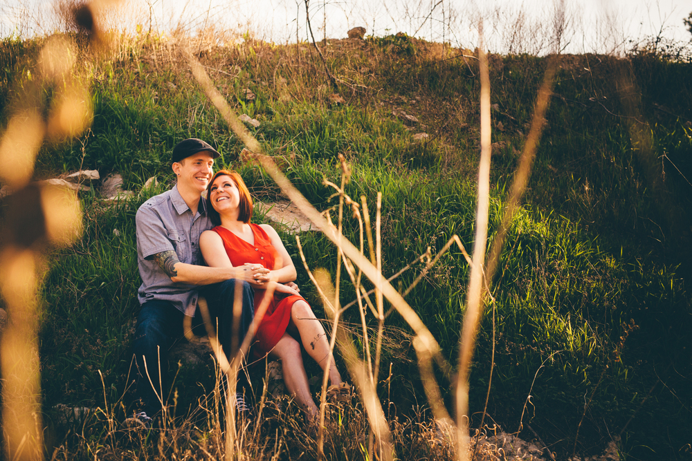 Jester King Engagement Session Photography