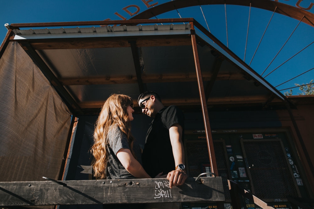 East Austin Engagement Session