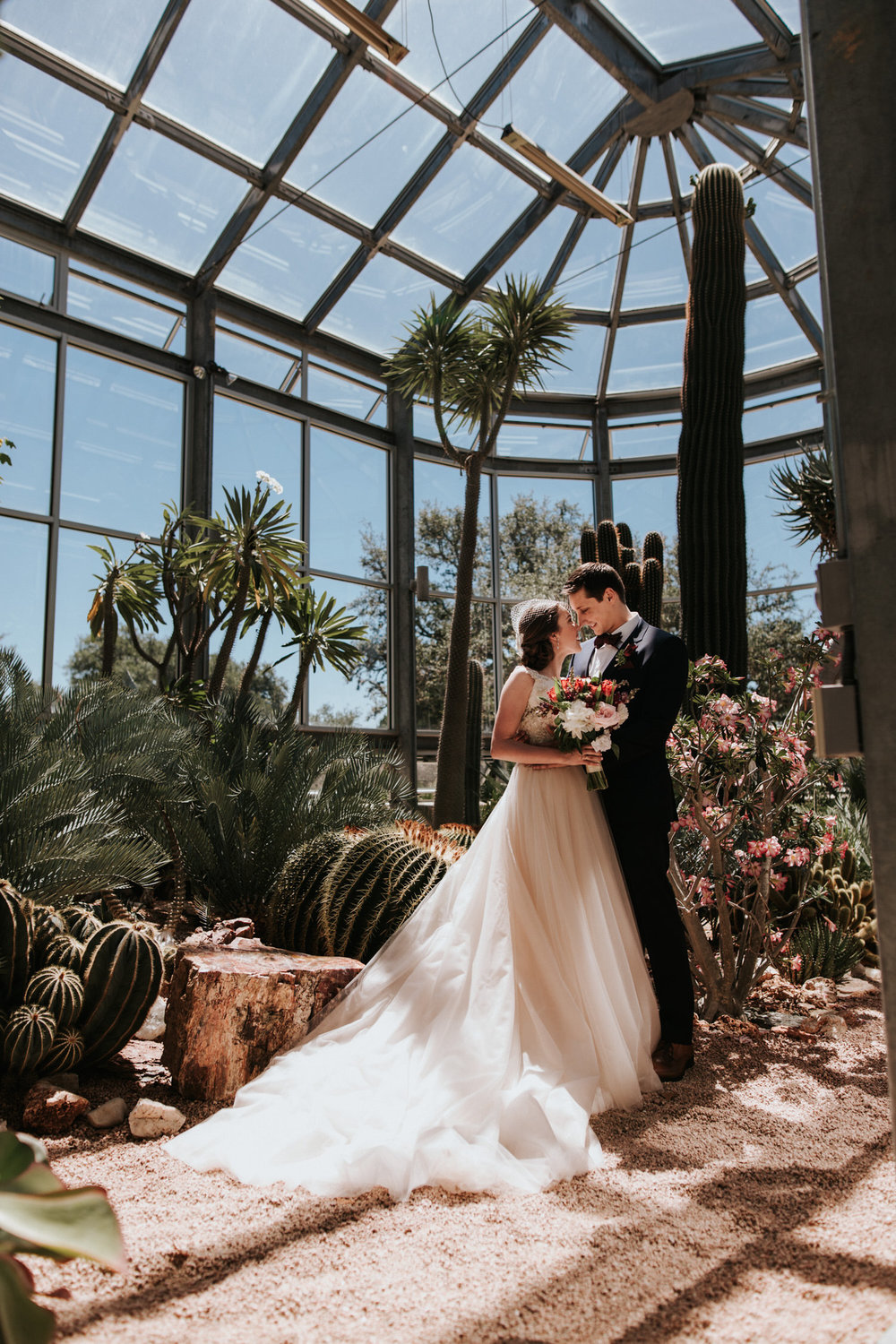 Greenhouse at Driftwood Wedding