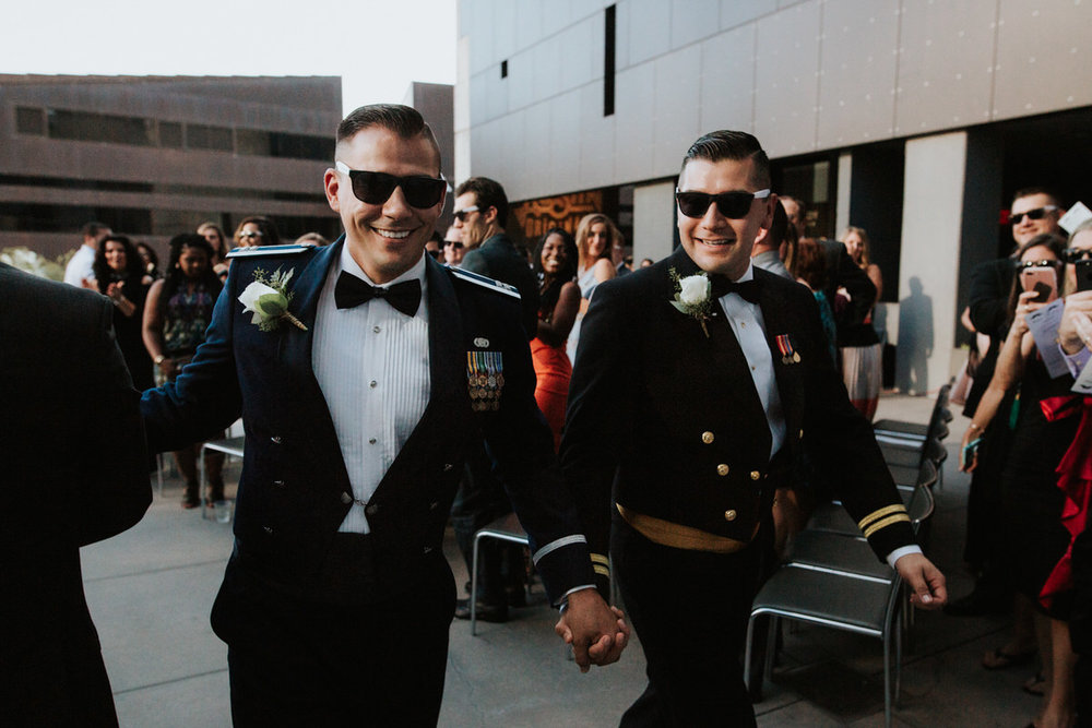 LGBT Wedding at The W Hotel in Austin