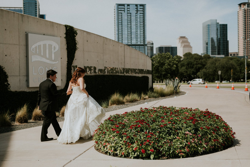 St. Mary's Cathedral Austin Wedding