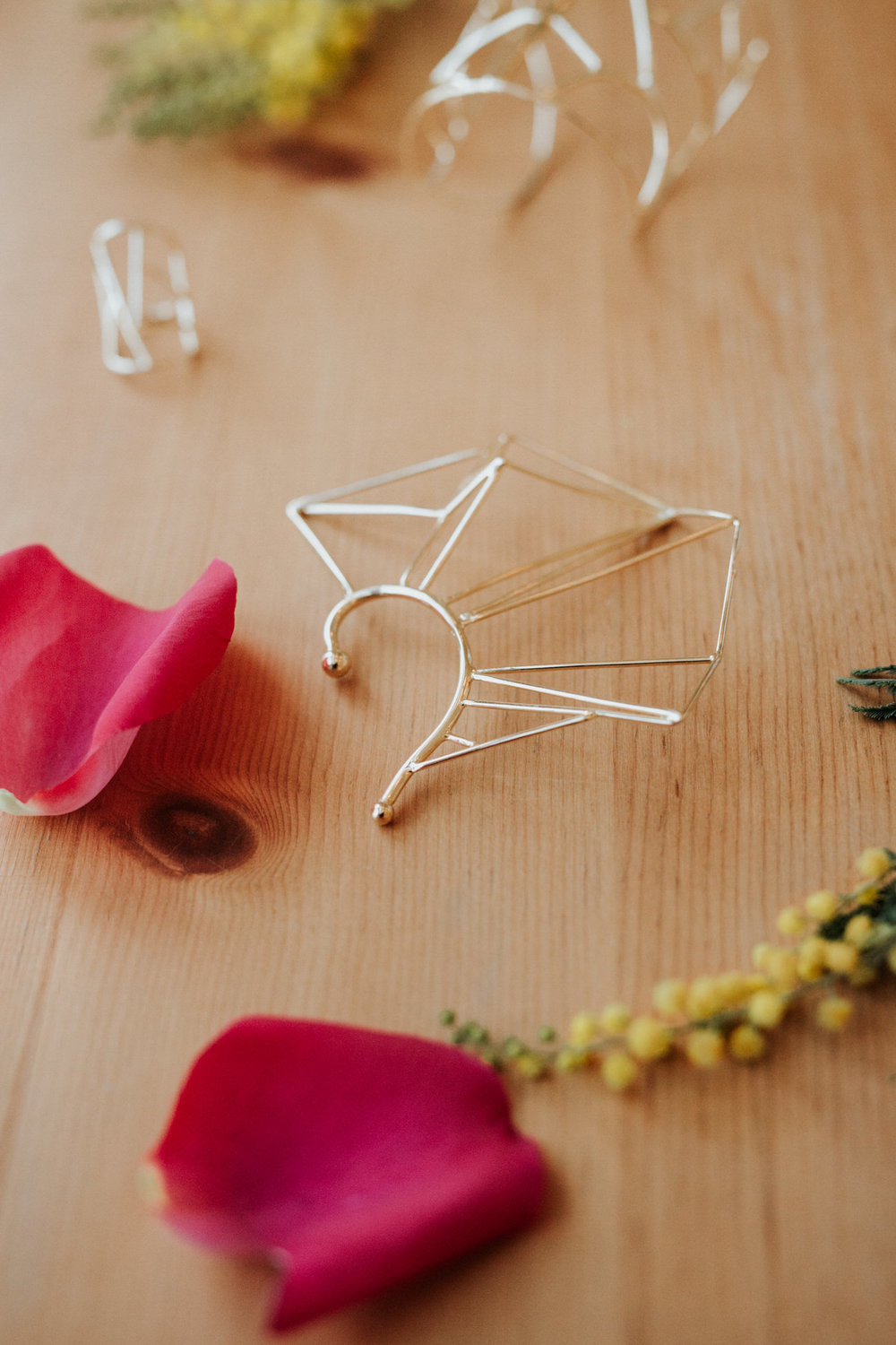 Beautiful geometric handmade jewelry