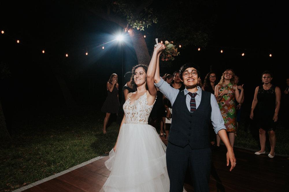 Austin wedding reception photography