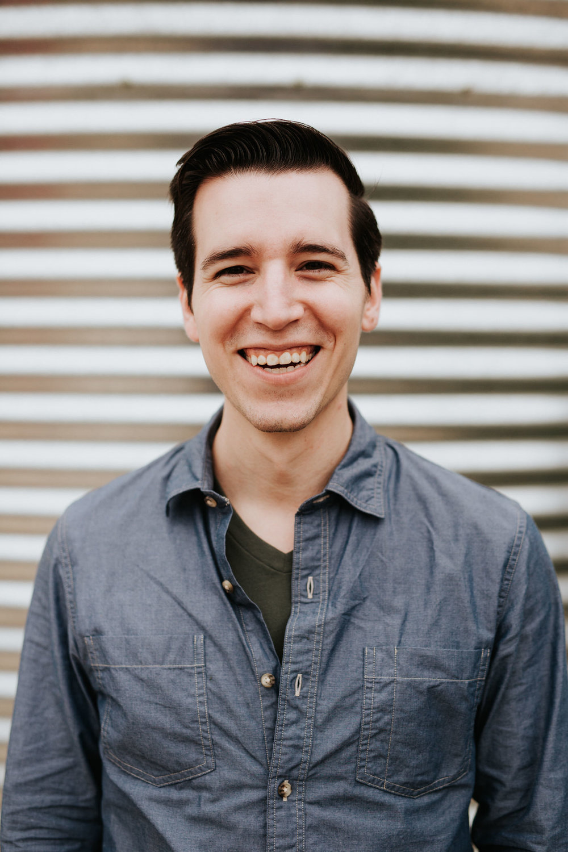 Smiling man at Lady Bird Johnson Wildflower Center in Austin