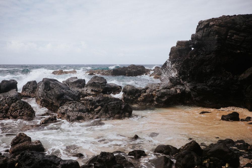 Pacific ocean photography in Hawaii