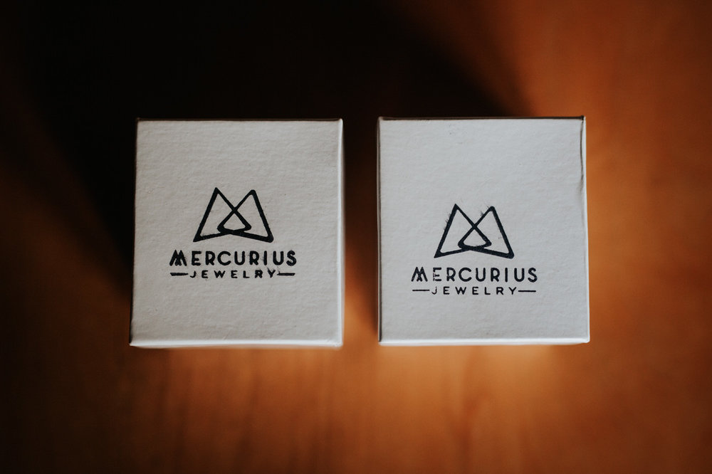Mercurius Ring boxes Texas hill country wedding