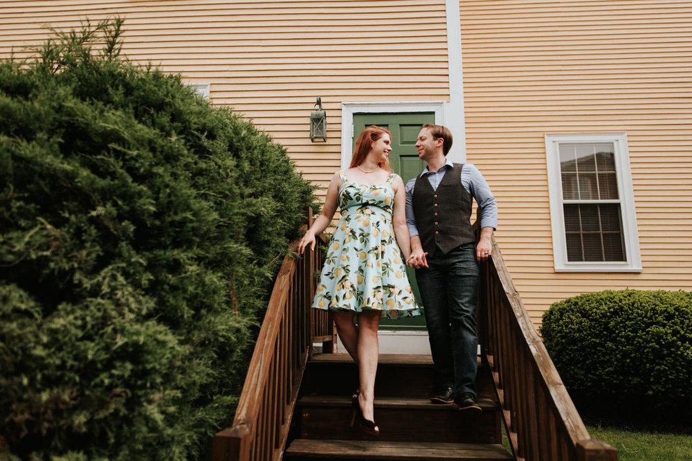 Portsmouth New Hampshire anniversary photo shoot