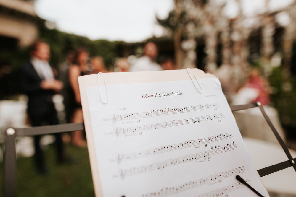 Music at Eolia Mansion glamour wedding