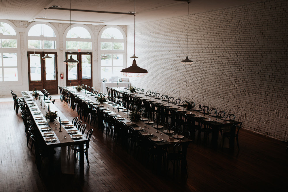 One Eleven East wedding decor