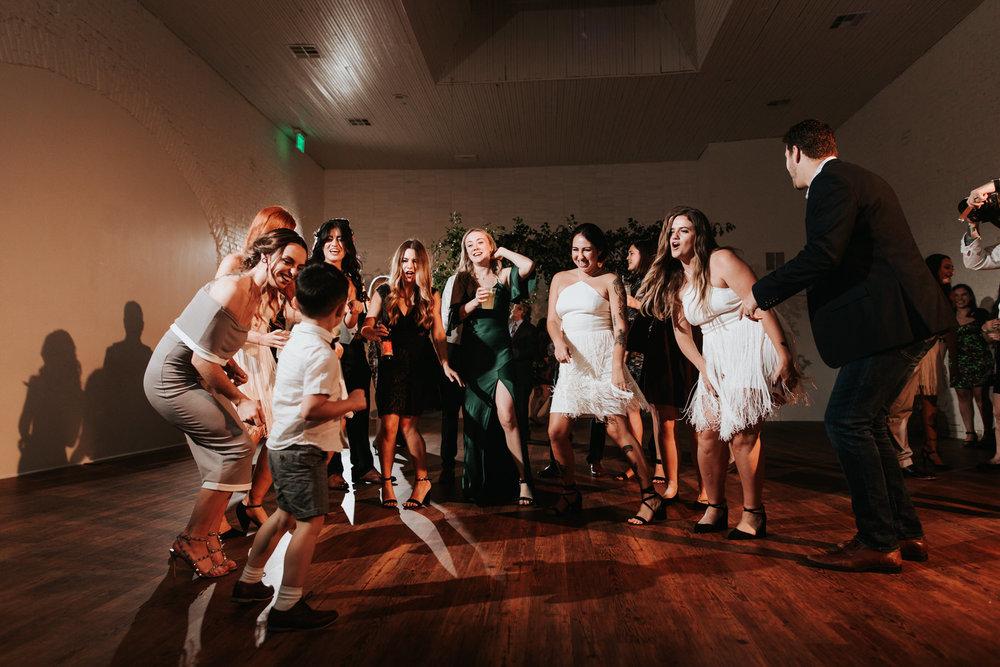 One Eleven East wedding reception