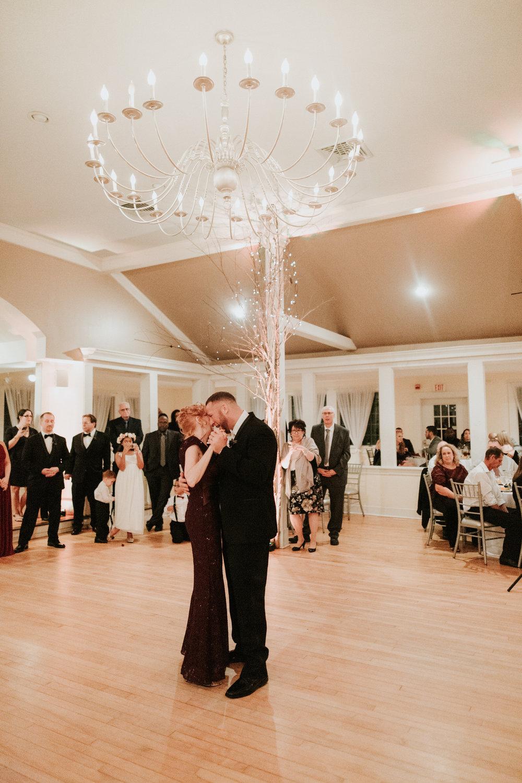 Old Daley Schenectady wedding reception