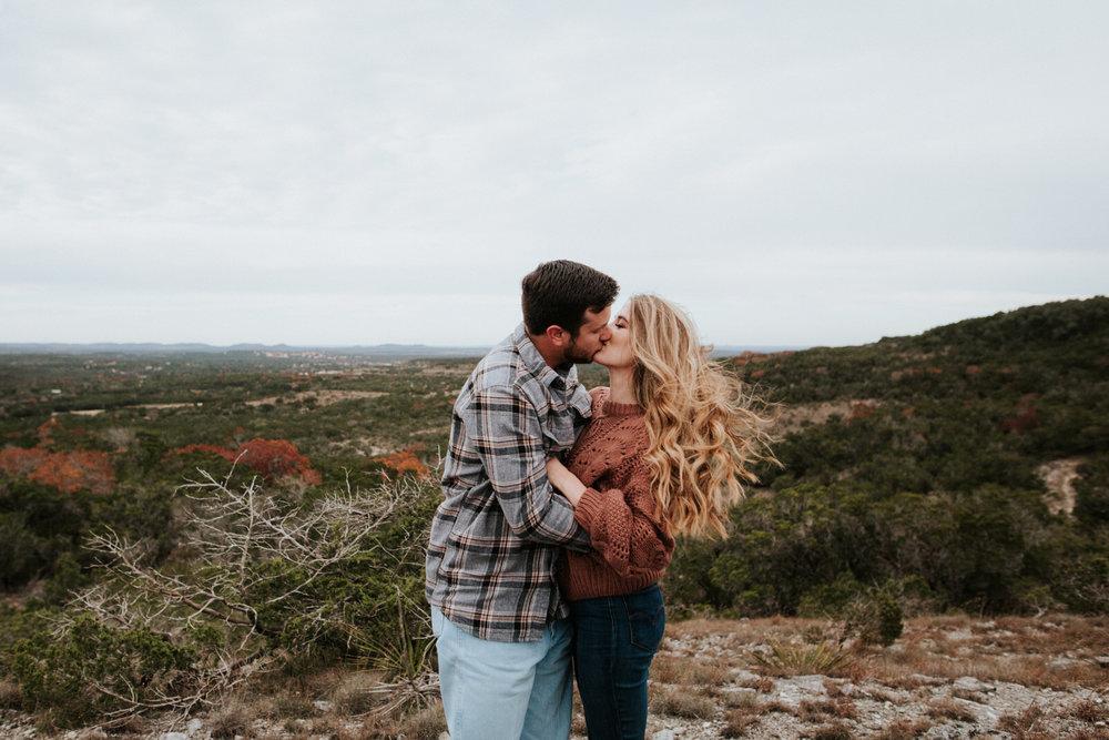 Rugged Austin engagement session