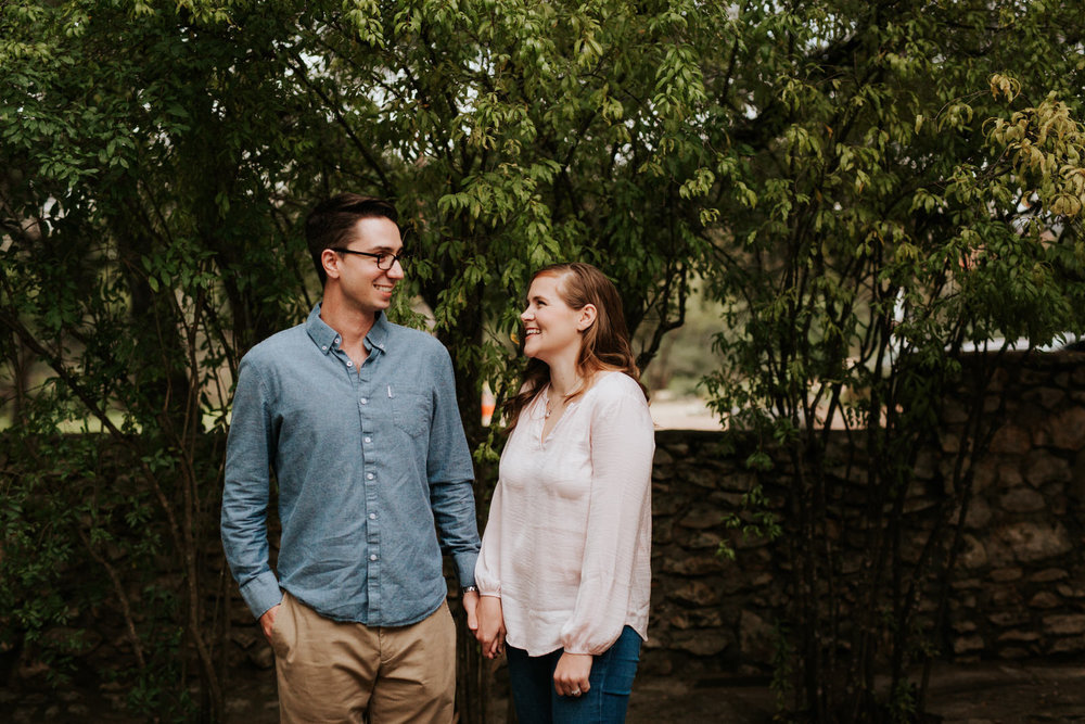 Mayfield Park engagement shoot