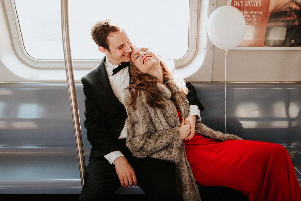 New York Subway Engagement - Diana Ascarrrunz Photography -9.jpg