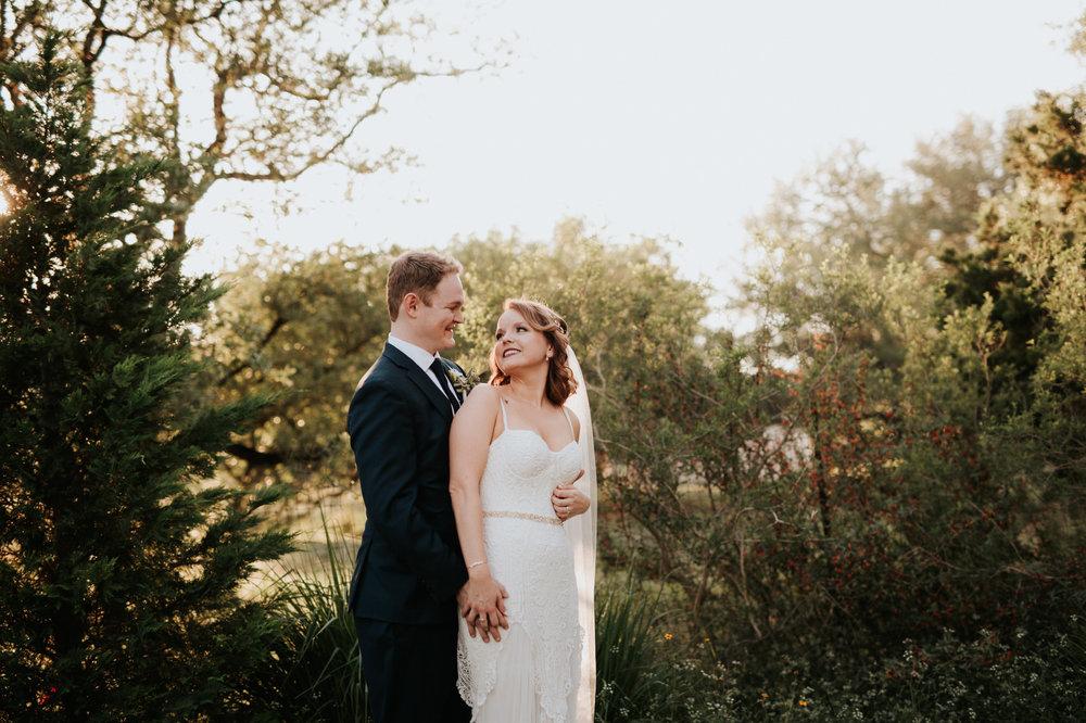 Austin luxury backyard wedding