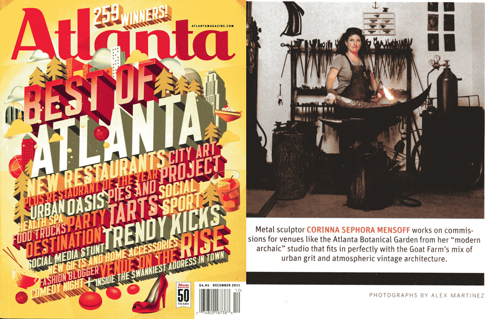 Atlanta Magazine. Dec. 2011.