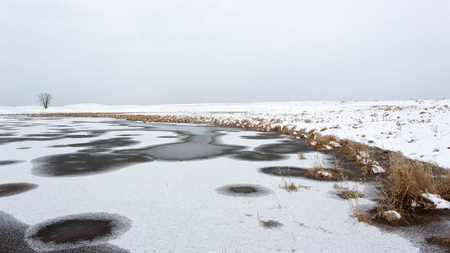 April 14, 2013:  Canon 5D mark iii + Canon 17-40mm f4.0L @ f14    34℉, Rain, Sleet Snow