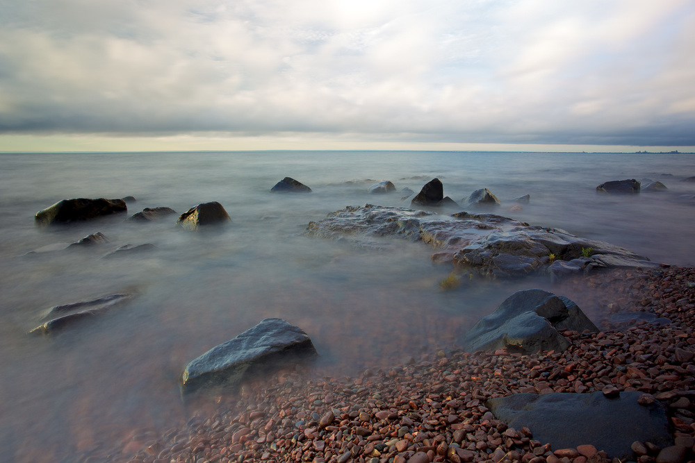 Wet Rocks - Kitchi Gammi Park, Duluth