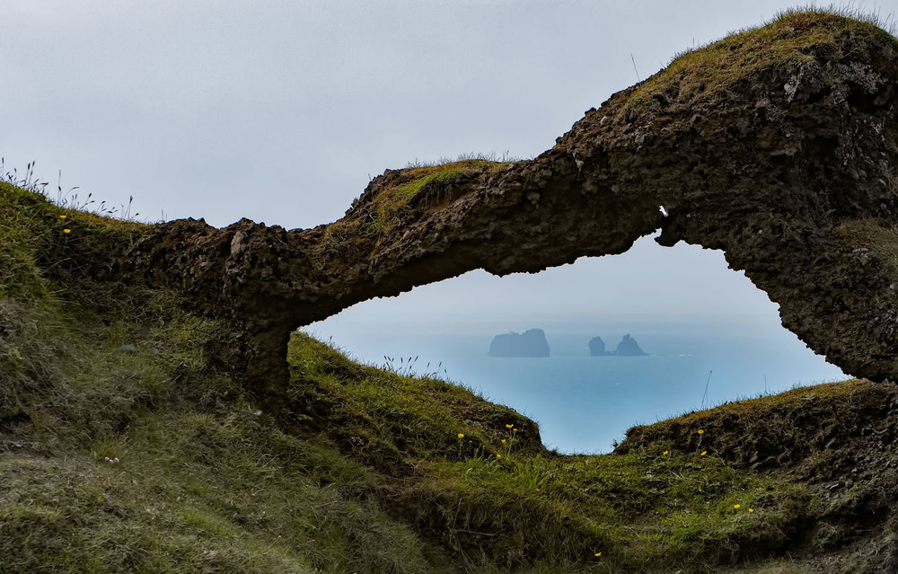 Stacked Image - Heimaey Vestmannaeyjar Archipelago, Iceland