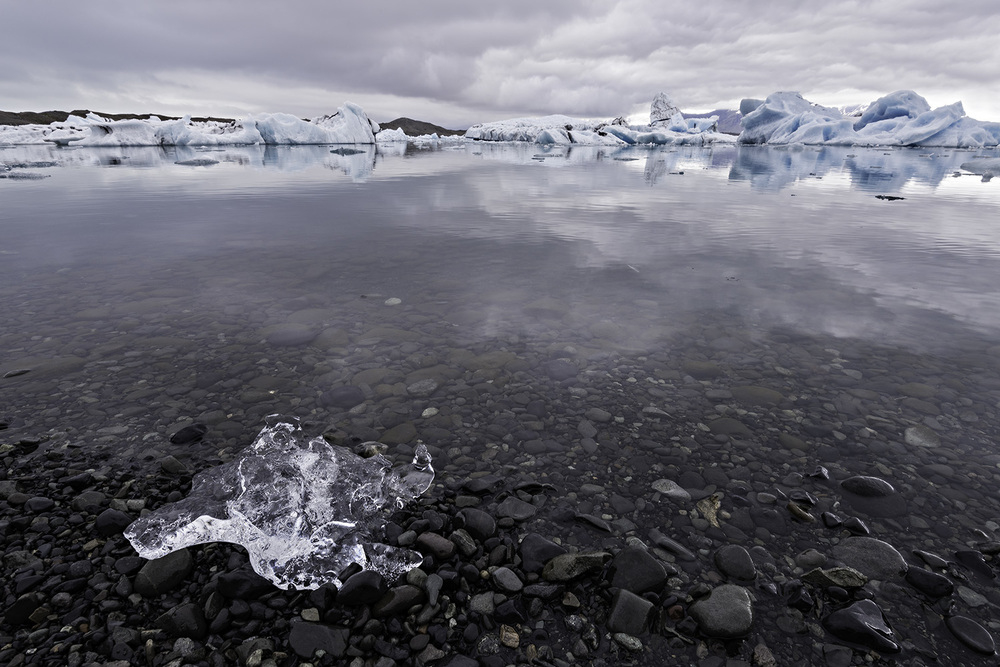 Ice in the Lagoon - Jökulsárlón, Iceland