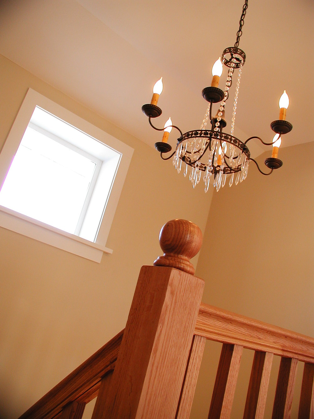 sold harp gallery chandelier crystal candles iron shop vine wrought