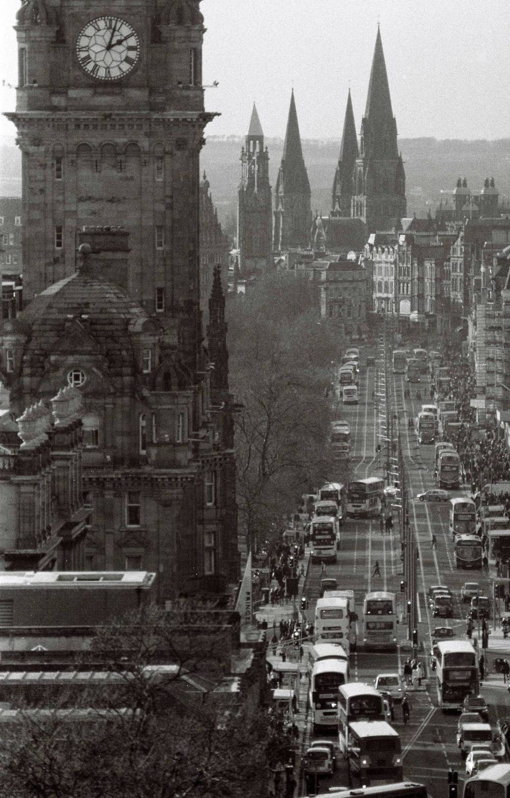 """Princes St, Edinburgh"" 