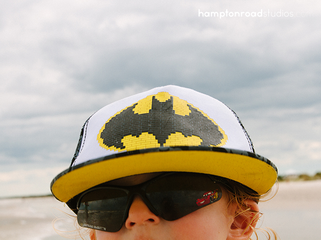 p in batman hat
