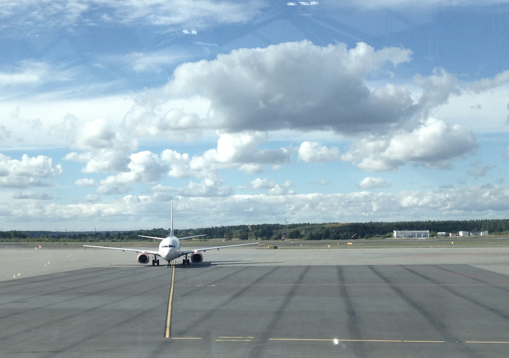 Stockholm Airport, where I had to change flights on my way to Umeå.