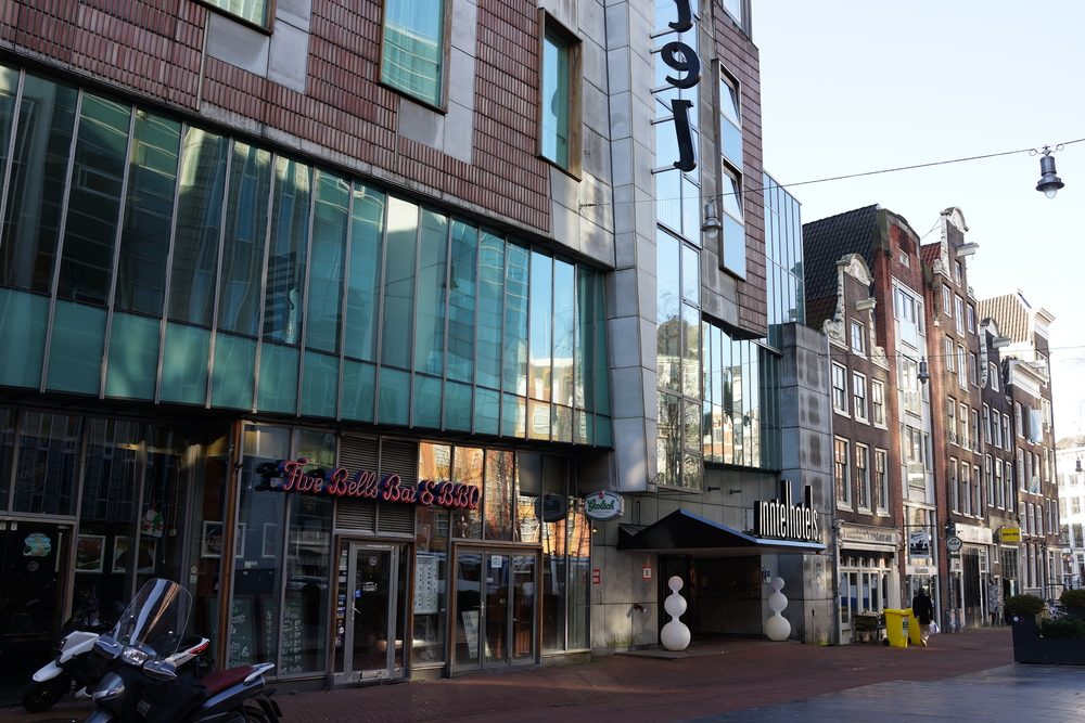 We all got to stay in the Inntel Hotel in Amsterdam's City Centre.