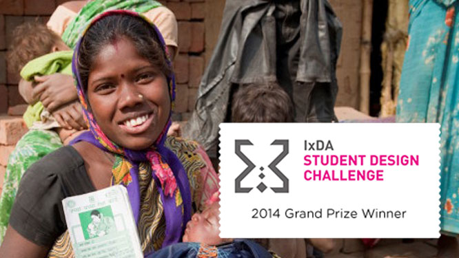 IxDA Student Design Challenge 2014