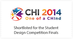 2014 CHI Student Design Competition Shortlist