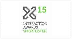 2015 IxDA Awards Shortlist in the Professional 'Optimizing' category