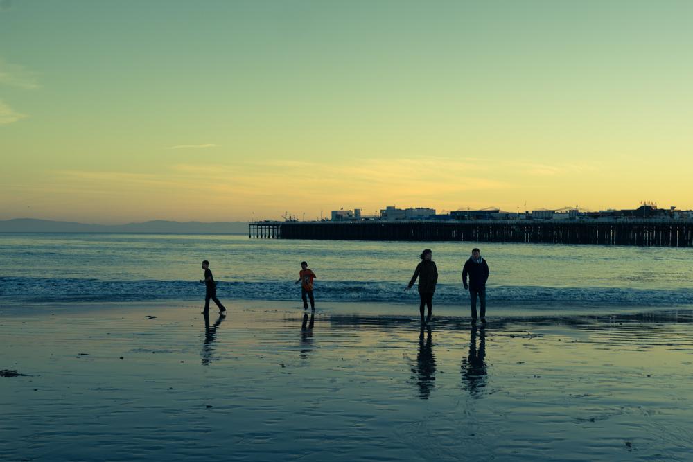 Santa Cruz Beach.