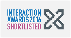 2016 Interaction Awards Shortlist for Monster Moves in the 'Expressive' category.