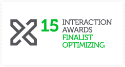 2015 IxDA Awards Finalist in the Professional 'Optimizing' category