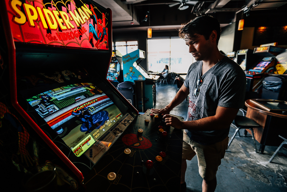 Spiderman - Barcade - Strength - Anchor